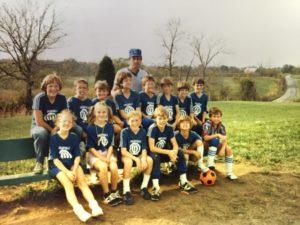 old soccer pic