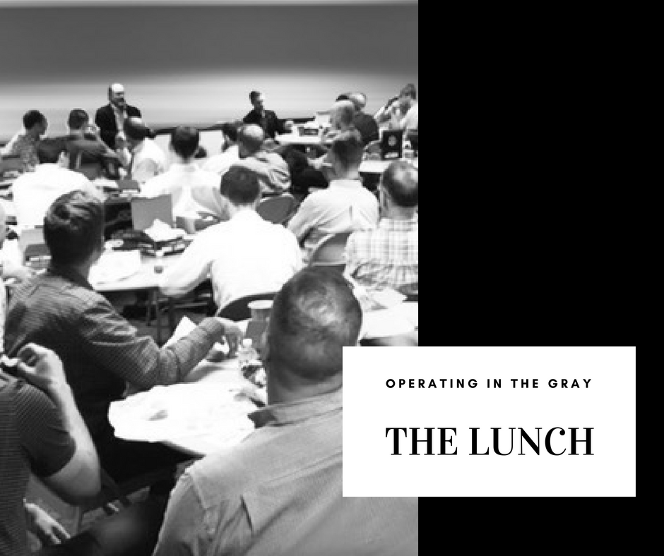 Connect For Lunch Networking Group Littleton: Operating In The Gray 6: Mixing Business And Faith, With